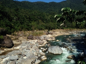 Pretty river.