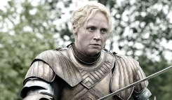 Brienne kicking ass.