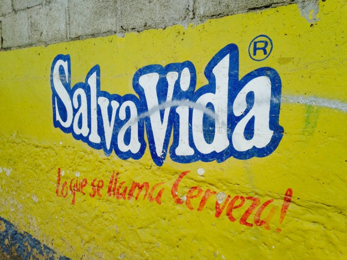SalvaVida sign