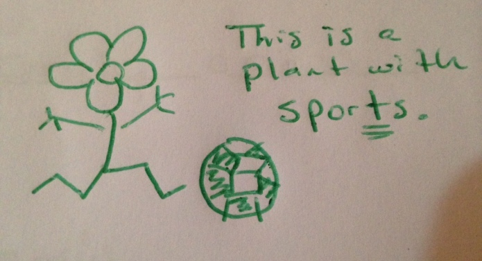 A plant with sports